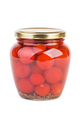 Glass jar with pickled cherry tomatoes - PhotoDune Item for Sale