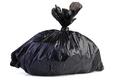 Big black plastic garbage bag - PhotoDune Item for Sale