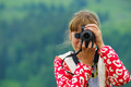 Girl with digital camera - PhotoDune Item for Sale