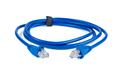 Blue ethernet (copper, RJ45) patchcord isolated on white background - PhotoDune Item for Sale