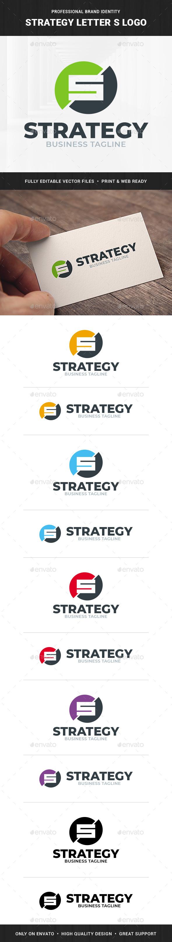 Strategy - Letter S Logo