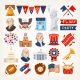 Independence Day Icons - GraphicRiver Item for Sale