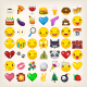 Collection of Yellow Face Emoticons and Emoji Icons Part 2 - GraphicRiver Item for Sale