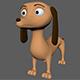 Dog Cartoon Taksa - 3DOcean Item for Sale