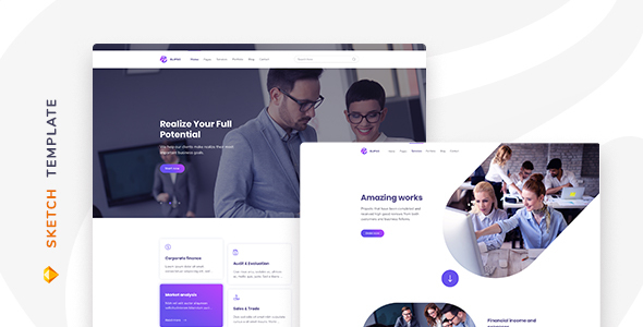 Elipso – Agency Sketch Template Free Download