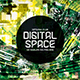 Digital Space CD Album Artwork - GraphicRiver Item for Sale