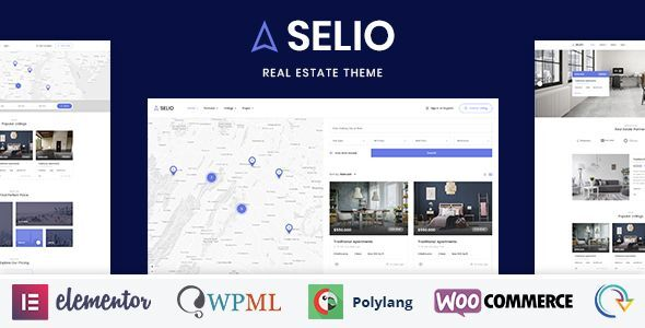 Selio – Real Estate WordPress Theme Free Download