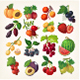 Set of Delicious Berries - GraphicRiver Item for Sale