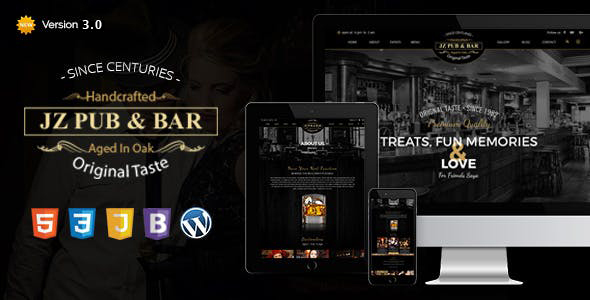 Jz Pub & Bar WordPress Theme