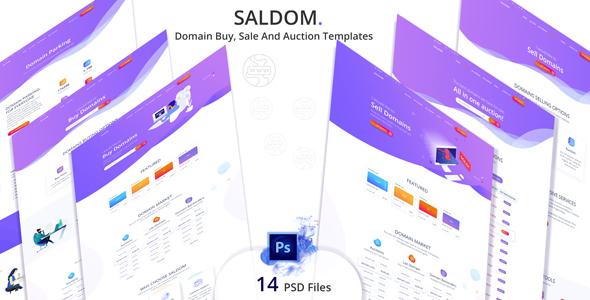 Saldom - Domain Sale And Auction Templates