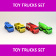 Toy Trucks Set - 3DOcean Item for Sale