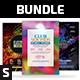 Party Flyer Bundle Vol.114 - GraphicRiver Item for Sale