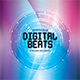 Digital Beats CD Album Artwork - GraphicRiver Item for Sale