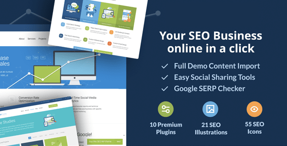 SEOWP | SEO & Digital Agency WordPress Theme