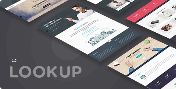 Lookup - Multi Purpose Drupal 8.7 theme