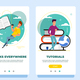 Onboarding Screens - GraphicRiver Item for Sale