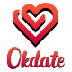 OkDate - Dating web with apps - CodeCanyon Item for Sale
