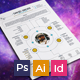 Resume/CV - Solar System - GraphicRiver Item for Sale