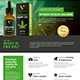 Hemp Product Flyer - GraphicRiver Item for Sale