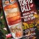 Japanese Sushi Sashimi Restaurant Menu Flyer  - Set of 3 Templates - GraphicRiver Item for Sale