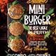Burger Food Truck or Restaurant Menu Flyer  - Set of 3 Templates - GraphicRiver Item for Sale