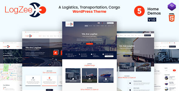 Logzee | Logistics, Transportation, Cargo WordPress Theme