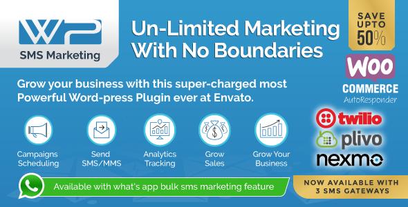 Wordpress SMS Marketing Plugin Download