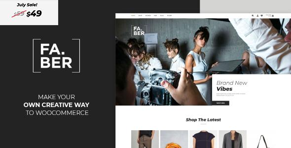 Faber -  Fashion & Clothing Shop for Woocommerce