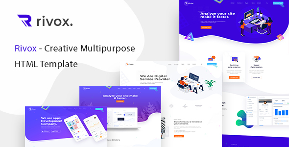 Rivox - Creative Multi-Purpose HTML Template