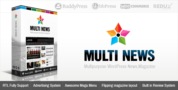Multinews | Magazine WordPress Theme