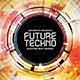 Future Techno CD Album Artwork - GraphicRiver Item for Sale