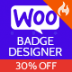 Woo Badge Designer