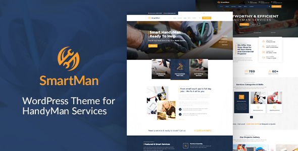 Smartman - WordPress Theme For Handyman Service