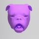 Bulldog Head Rigged Lipsync - 3DOcean Item for Sale