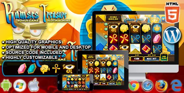 Slot Ramses - gra kasynowa HTML5