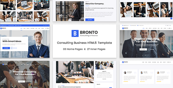Bronto - Consulting Business HTML5 Template