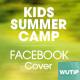 10 Facebook Cover - Kids Summer Camp - GraphicRiver Item for Sale