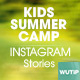 10 Instagram Stories - Kids Summer Camp - GraphicRiver Item for Sale
