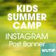 20 Facebook Post Banner - Kids Summer Camp - GraphicRiver Item for Sale