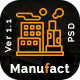 Manufact: Industrial Business PSD Template - ThemeForest Item for Sale