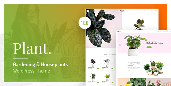 Plant - Gardening & Houseplants WordPress Theme