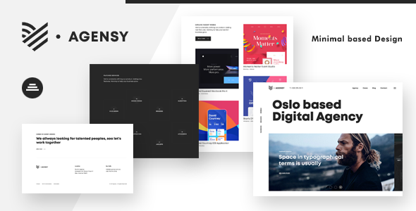 Agensy | Digital Lab & Creative Solutions Theme