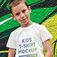 Kids Boy T-Shirt Mockups Vol4 - GraphicRiver Item for Sale