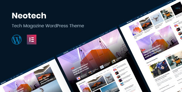 Neotech | Magazine Elementor WordPress Theme