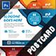 Multipurpose Business Postcard Template - GraphicRiver Item for Sale