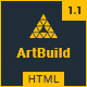 ARTBUILD | Construction & Building HTML Template - ThemeForest Item for Sale