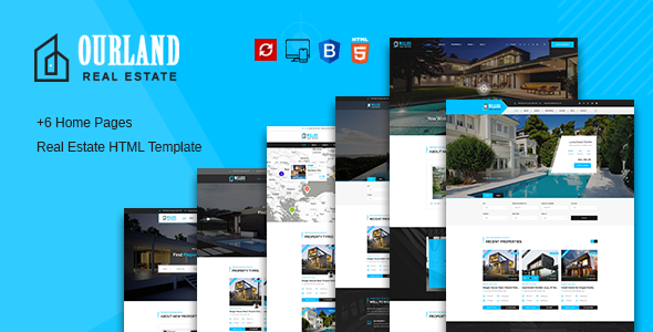 Ourland - Real Estates HTML Template