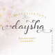 Daysha - Wedding Font - GraphicRiver Item for Sale