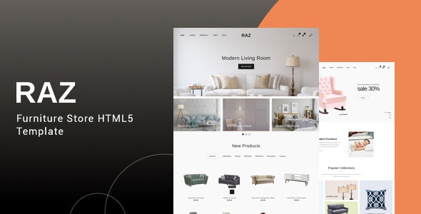 Raz - Furniture Store HTML5 Template