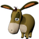 Donkey Model From  Winnie the Pooh - 3DOcean Item for Sale